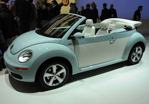 Volkswagen Beetle Final Editions se presentan en Los Ángeles 2009