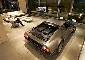 Un garaje de ensueño para una Ferrari