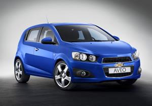 Chevrolet Aveo 2011 debuta en París