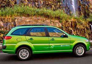 Fiat Palio Weekend un auto eléctrico Latinoamericano