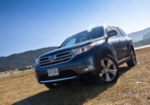 Toyota Highlander Limited 4WD 2011 a prueba