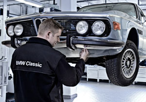 BMW Classic Center, servicio para autos antiguos
