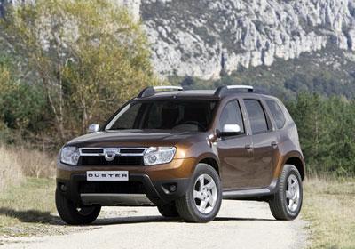 Dacia Duster 2010: Competencia para la Ford Ecosport