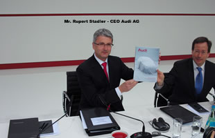 Audi AG presentó sus resultados 2009