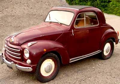 Fiat 500: El famoso Mickey Mouse
