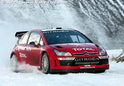 La lista oficial de equipos para el WRC 2007