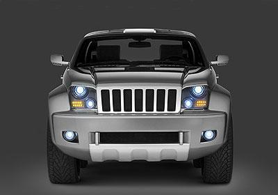 Salón de Detroit 2007: Jeep Trailhawk Concept
