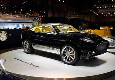 Spyker D12 Peking-to-Paris: Hecho a mano