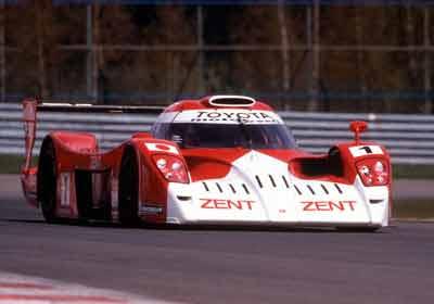 Toyota GT-One: Asombró en Le Mans