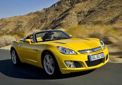 """Opel GT: coupé bien """"fachera"""""""