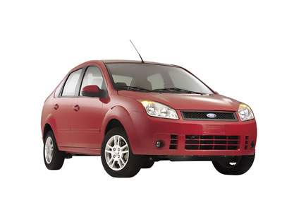 Se presentó el Ford Fiesta Sedán 2008.