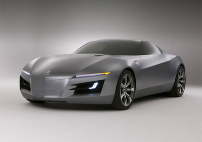 Acura Advanced Sports Car Concept: agresivo