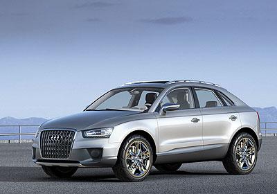 Audi Cross Coupé quattro: ¿El nuevo Q5?
