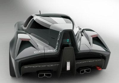 Spada TS Codatronca concept: paladar exótico