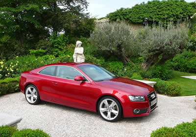 Audi presenta el A5 en Verona, Italia