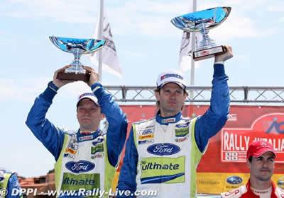 Marcus Gronholm gana el rally de Italia-Cerdeña