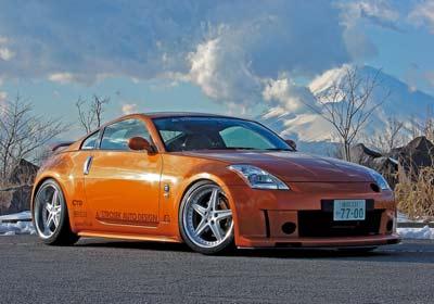 Strosek Nissan 350Z: personalidad propia
