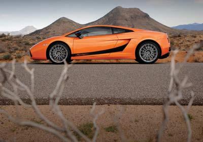 Lamborghini Gallardo Superleggera: ligerito