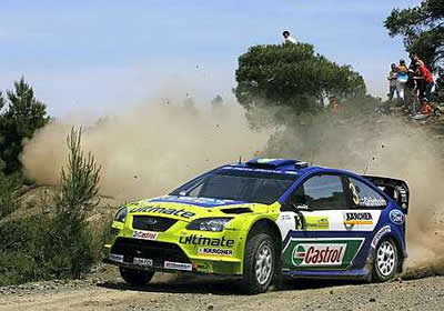 Marcus Gronholm gana el Rally de Acrópolis