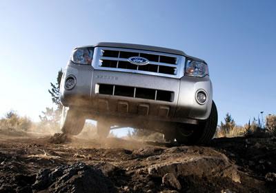 Ford Escape, a prueba
