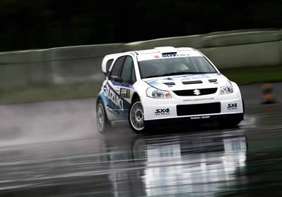 Suzuki afina detalles para su incursión en el WRC