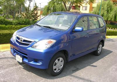 Toyota Avanza: a prueba