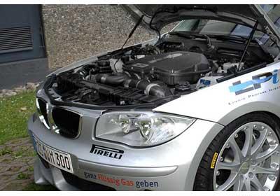BMW Serie 1 propulsado por gas