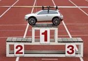 Un mini Volvo C30 en los Juegos Panamericanos