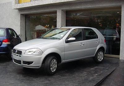 Ya está en Chile el nuevo Fiat Palio 2008
