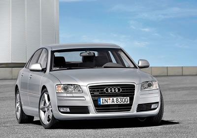 Lavado de cara para el Audi A8 2008