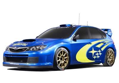 Subaru WRC Concept primeras imágenes
