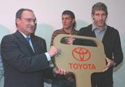 Toyota entregó a Boca el pasaporte para el Mundial de Clubes