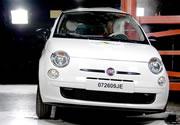 Cinco estrellas de la Euro NCAP para el Fiat 500