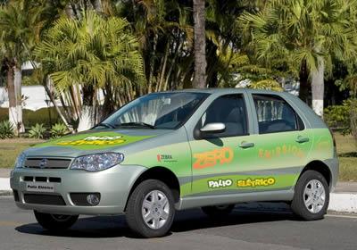 Fiat desarrolla en Brasil un Palio 100% eléctrico