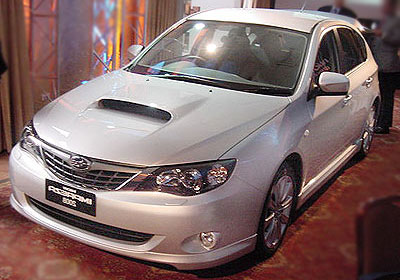 Subaru estrena en Chile el nuevo Impreza 2008