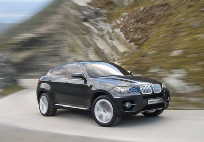BMW Concept X6: un SUV coupé extravagante