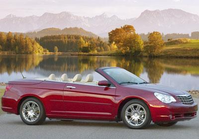 En Chile el Chrysler Sebring Convertible