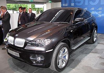 BMW Concept X6: Nace el todoterreno coupé