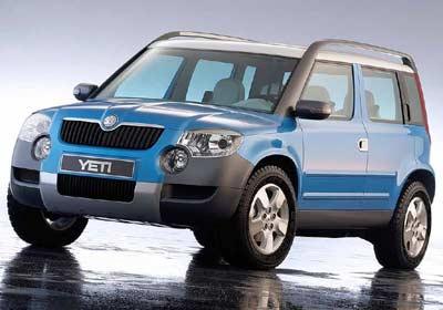 Skoda Yeti: con aspecto de SUV