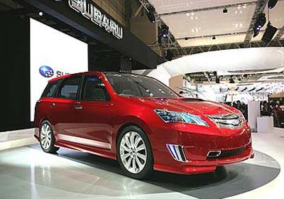 Subaru Exiga Concept ¿Anticipos del nuevo Legacy?