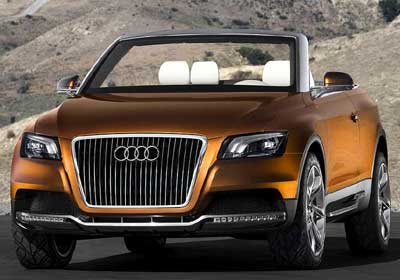 Audi Cross Cabrio Quattro: el futuro Q5