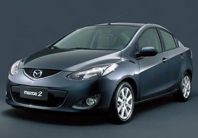 Presentan el Mazda 2 Sedán en China