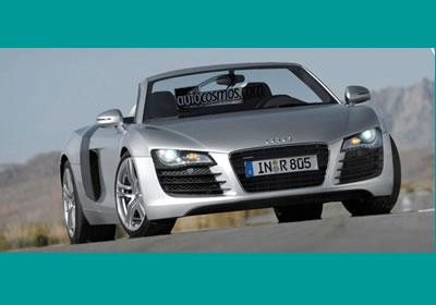 ¡Exclusiva! El Audi R8 Spider