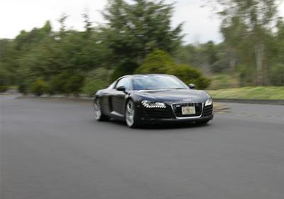 Audi R8, a prueba