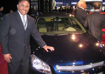 Chevrolet Malibu, auto del año 2008 en Norteamérica
