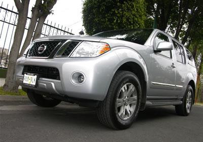 Nissan Pathfinder 2008 a prueba