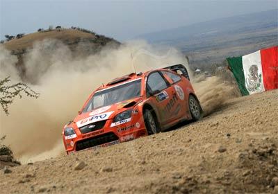 Se llevó a cabo la presentación oficial del Rally México 2008
