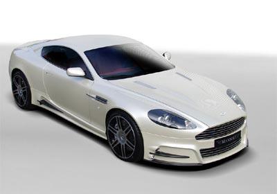 Aston Martin DB9 por Mansory