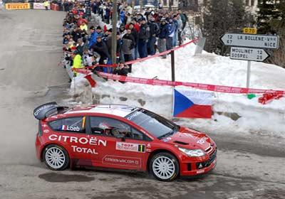 Sebastien Loeb se queda con el triunfo del Rally de Montecarlo