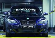 BMW fabrica 5 millones del Serie 5
